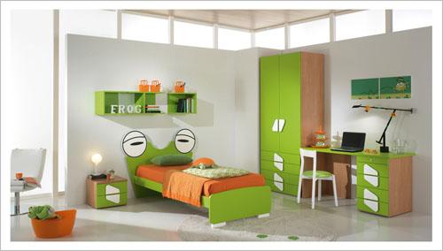 Dormitorios modernos para ni os vinilchic - Habitaciones de ninos pequenas ...