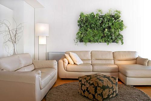 Decoracion de paredes vinilchic - Jardin vertical de interior ...
