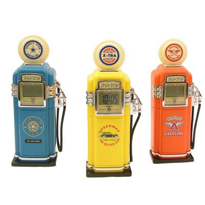 despertador bomba de gasolina