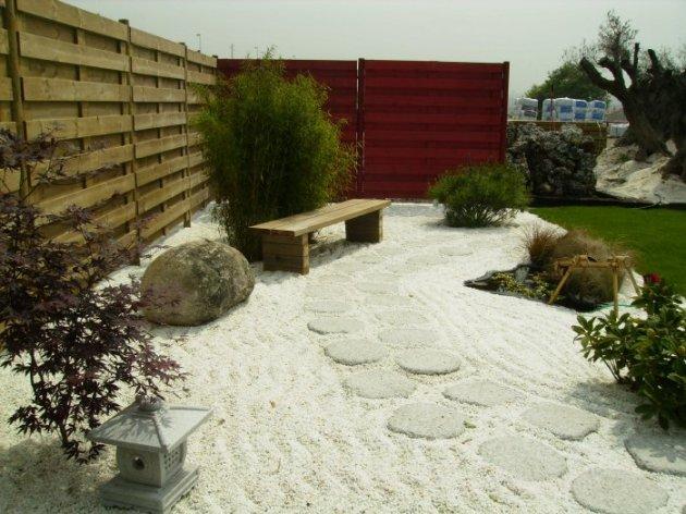 jardin-zen-banca