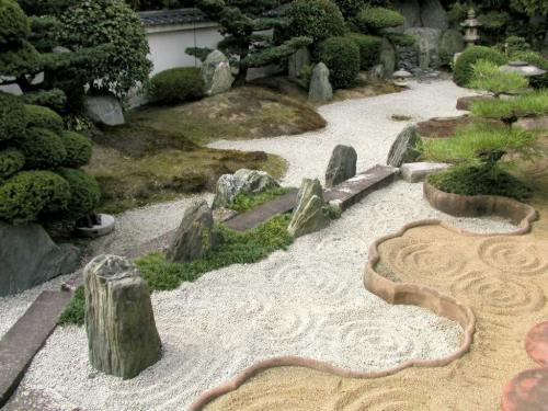 Jardin zen vinilchic for Decoracion jardin japones