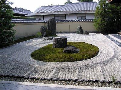 Jard n zen vinilchic for Jardin kyoto