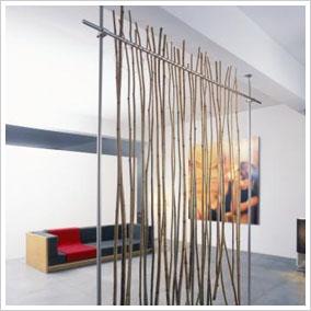 panel japones de bambu